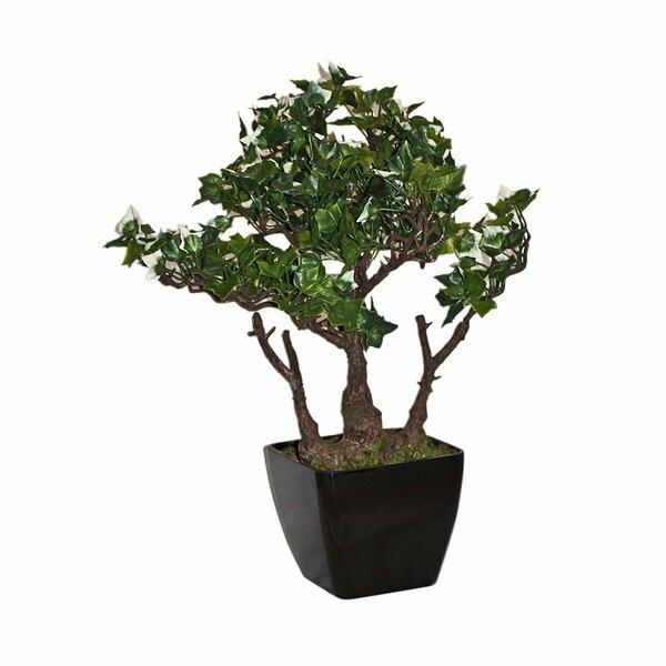 Replica Faux Bonsai Tree in Planter by ALEKO