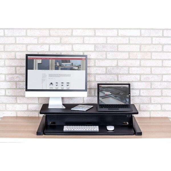 Kerrick Electric Level Up Pro Standing Desk Converter by Symple Stuff