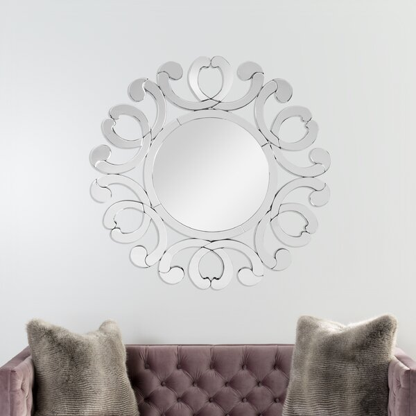 Rayne Accent Mirror by Rosdorf Park