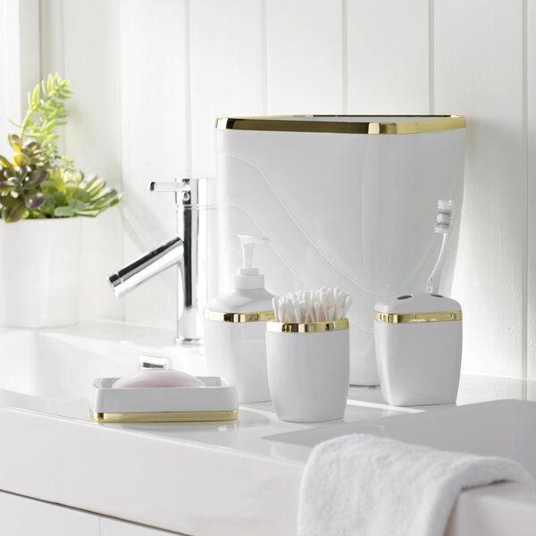 Wayfair Basics Bathroom Accessory Set (Set of 5) by Wayfair Basics™