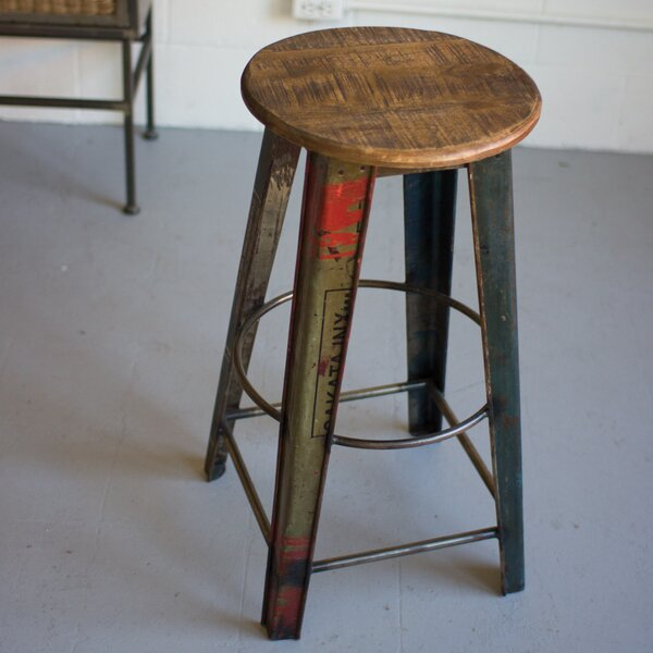 Luna 30 Bar Stool by 17 Stories