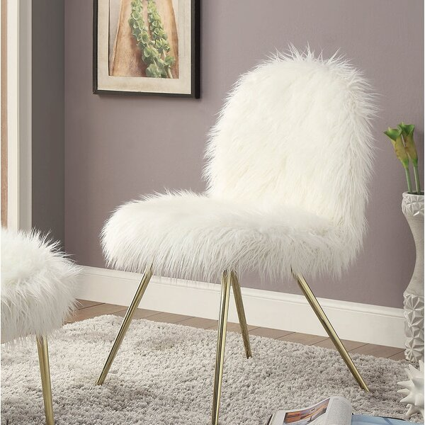 Ridley Slipper Chair by Everly Quinn
