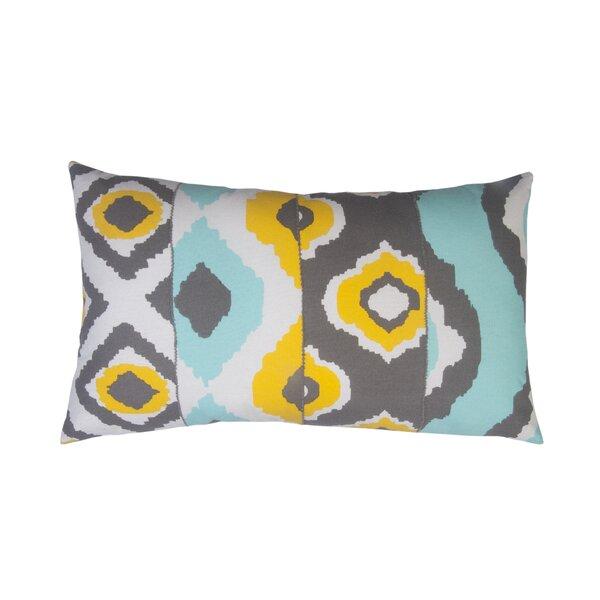 Ikat Toss Indoor/Outdoor Lumbar Pillow by Divine Designs