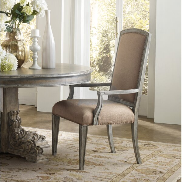 True Vintage Upholstered Dining Chair By Hooker Furniture