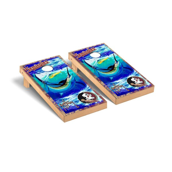 Guy Harvey Version Cornhole Game Set by Victory Tailgate