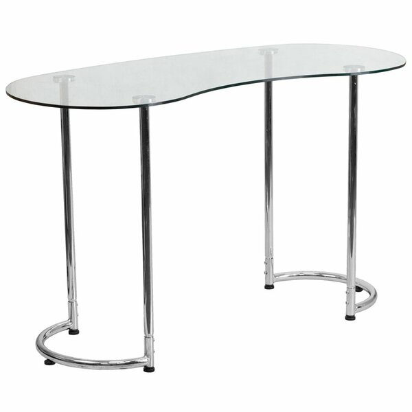 Whisenant Glass Desk