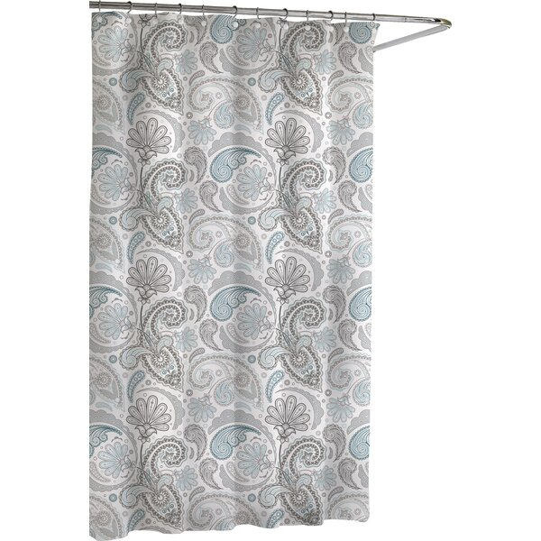 Paisley Cotton Shower Curtain by Kassatex Fine Lin