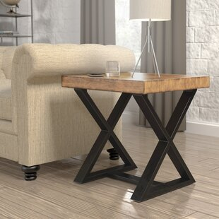 Sikeston Industrial End Table