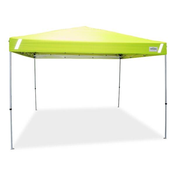 Caravan Canopy V-Series 2 Pro 10 ft. x 10 ft. Steel Hi-Viz Safety Instant Canopy by Caravan Canopy