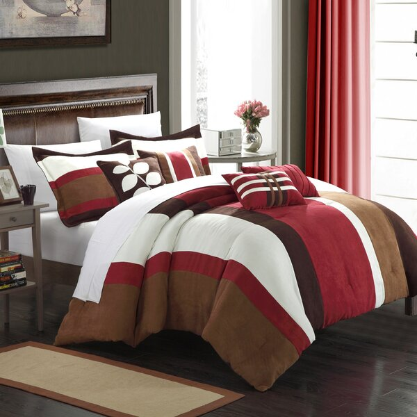 Highland 7 Piece Comforter Set by Chic Home