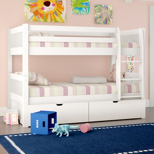 Isabelle Twin over Twin Bunk Bed with Storage by Viv + Rae