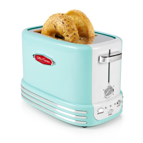 2 Slice Retro Series Bagel Toaster by Nostalgia