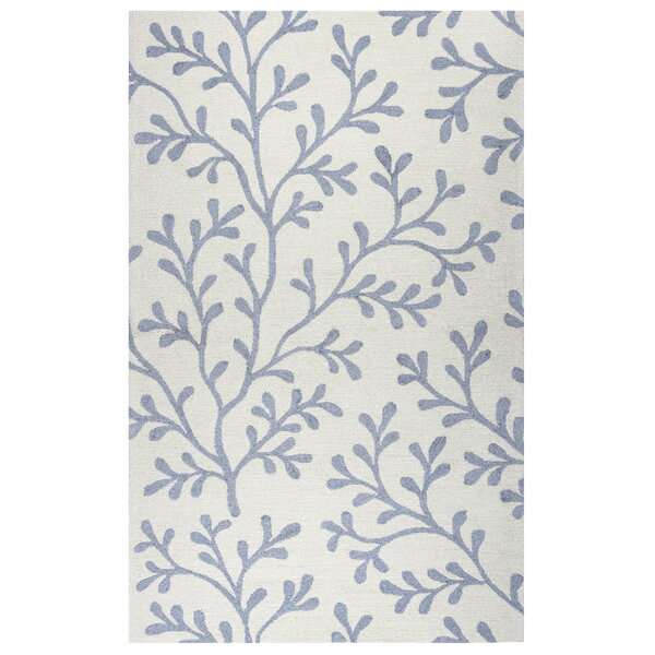 Maryland Hand-Tufted Ivory Indoor/Outdoor Area Rug by Beachcrest Home