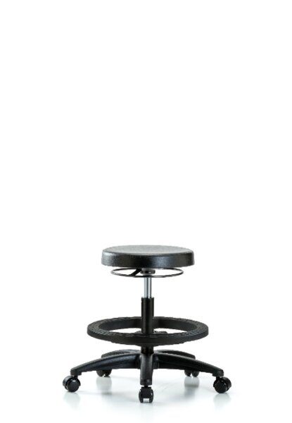 Cecily Medium Bench Height Adjustable Lab Stool by Symple Stuff