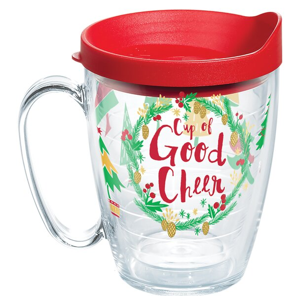 Cup Of Good Cheer 16 oz. Plastic Travel Tumbler by Tervis Tumbler
