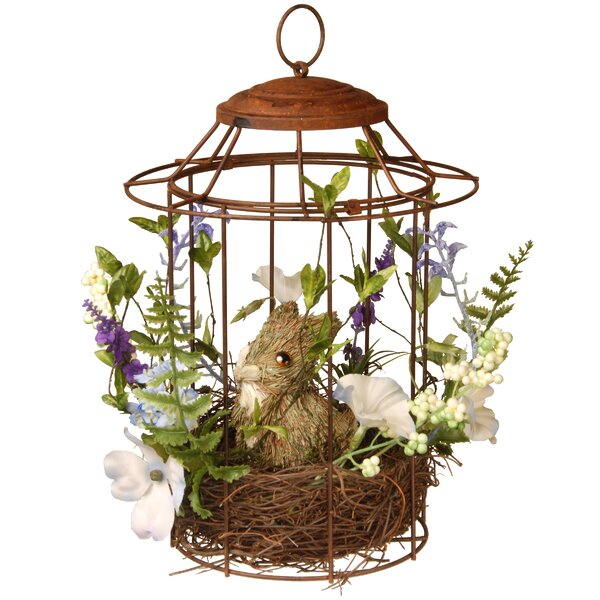 Easter Bird Cage by National Tree Co.