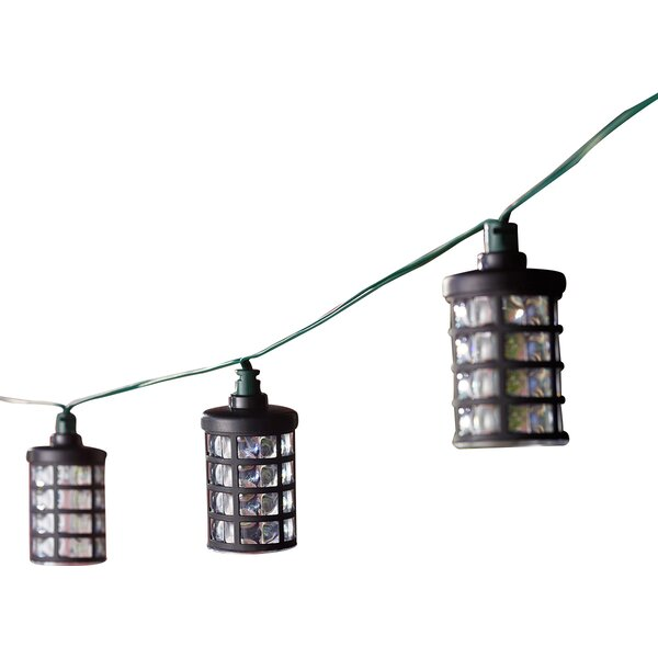 Solar 20-Light 14.75 ft. Lantern String Lights by Smart Solar