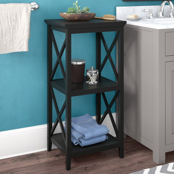 Nellis 18 W x 36.25 H Bathroom Shelf by Beachcrest Home