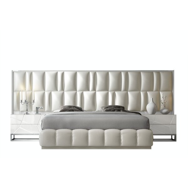 Sherburn London Bedor21 Standard 4 Piece Bedroom Set by Everly Quinn
