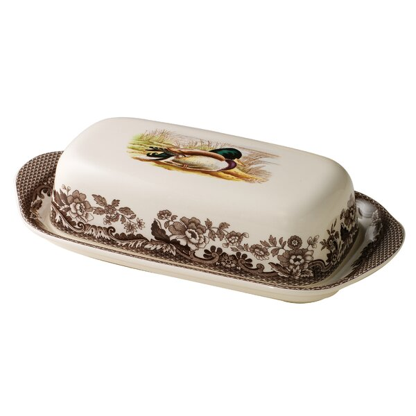 Woodland Butter Dish by Spode