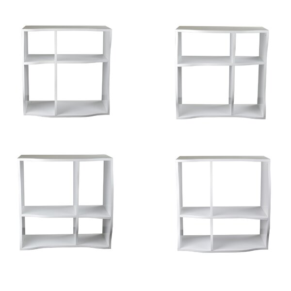 Faircloth Cube Unit Bookcase (Set of 3) by Ebern Designs