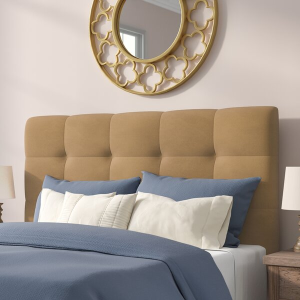 Callis Upholstered Panel Headboard by Winston Porter
