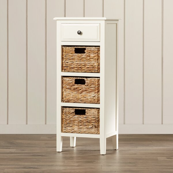 Santa Cruz Solid Wood End Table With Storage By Beachcrest Home