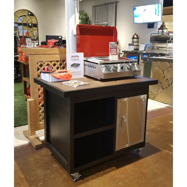 Grill Cart by Aupa Plancha
