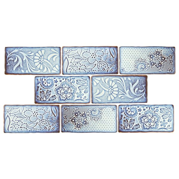 Antiqua 3 x 6 Ceramic Subway Tile in Feelings Via Lactea by EliteTile