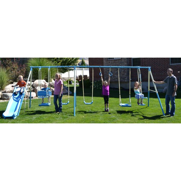 Swing Pro 9-Play Swing Set by Propel Trampolines