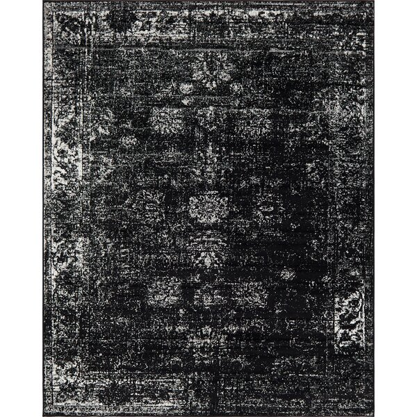 Brandt Black Area Rug by Mistana