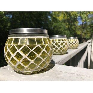 Savings Mosaic Solar LED Deck Light (Set of 3) By Pomegranate Solutions, LLC