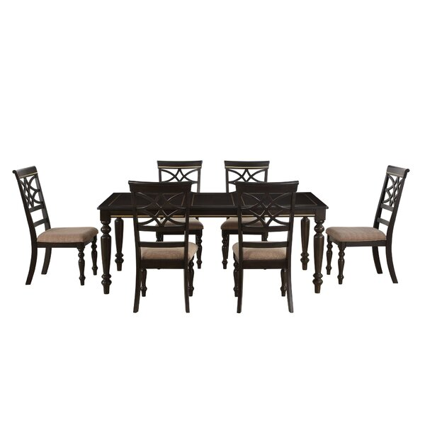 Entrekin 7 Piece Dining Set by Charlton Home