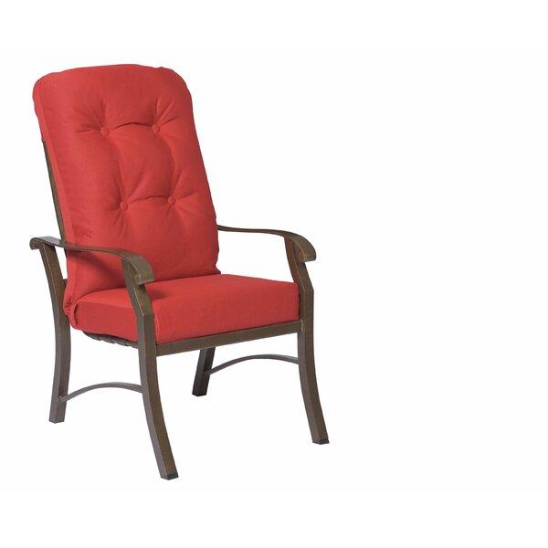 Cortland High Back Patio Dining Chair (Set of 2) by Woodard Woodard