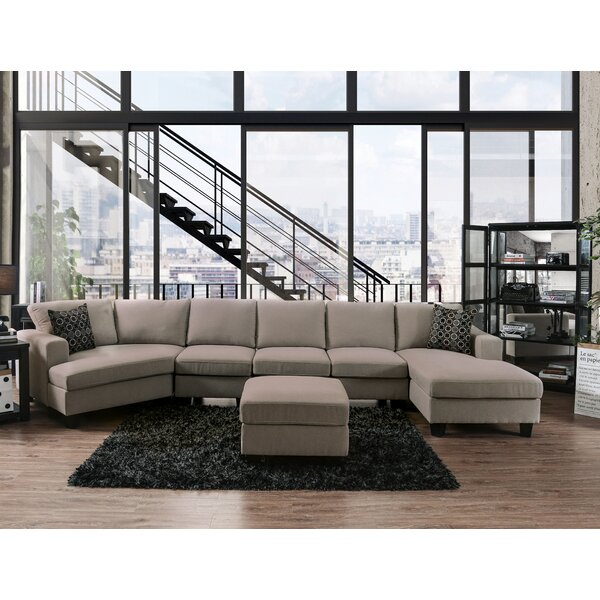 Bucoli Modular Sectional with Ottoman by Red Barrel Studio