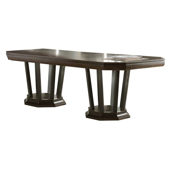 Bloomington Extendable Dining Table by Foundry Select