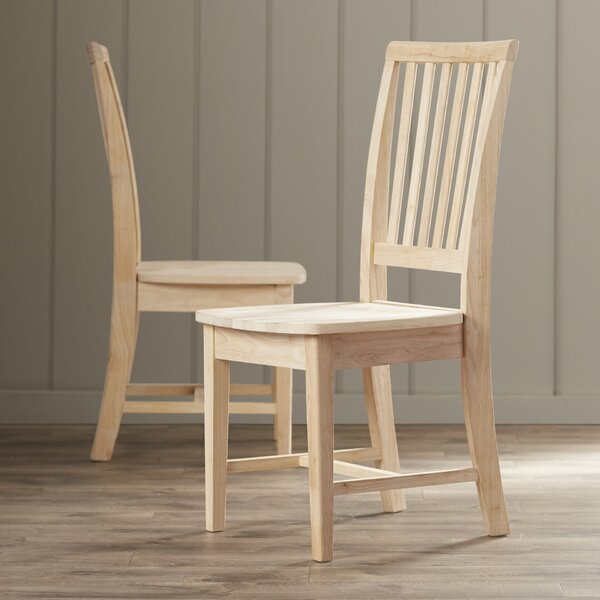 Lynn Solid Wood Dining Chair (Set of 2) by Mistana