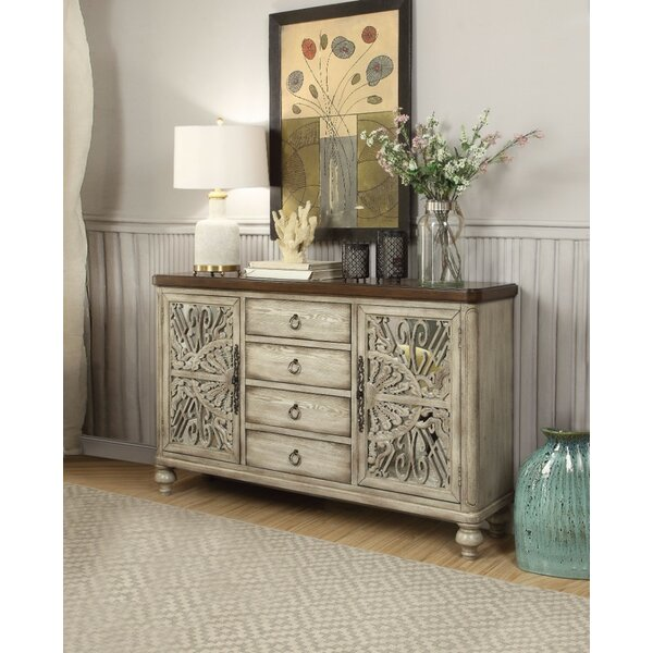 Janousek 4 Drawer Combo Dresser by Ophelia & Co.