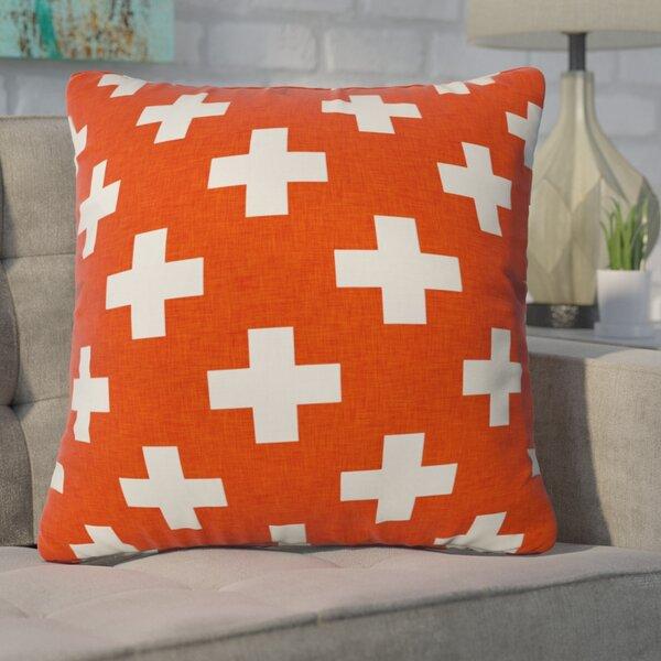 Freitag Vermillion Plus Throw Pillow by Brayden Studio