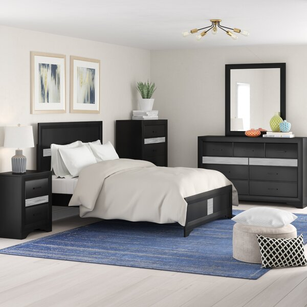 Geist Standard 4 Piece Bedroom Set by Wrought Studio