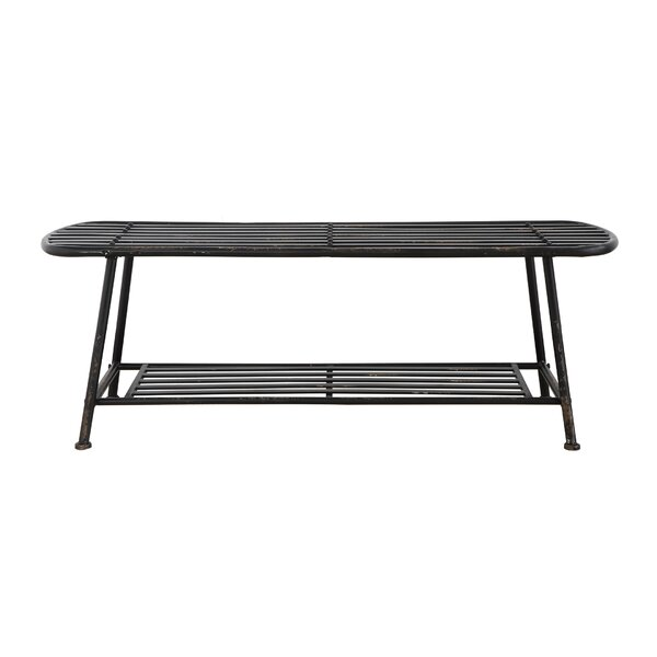 Douglas Forges Metal Bench By Williston Forge