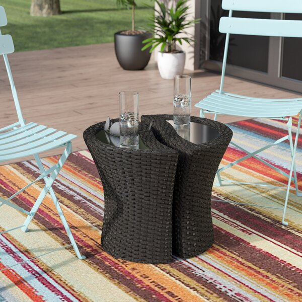 Cherita Outdoor Separable End Table by Zipcode Design
