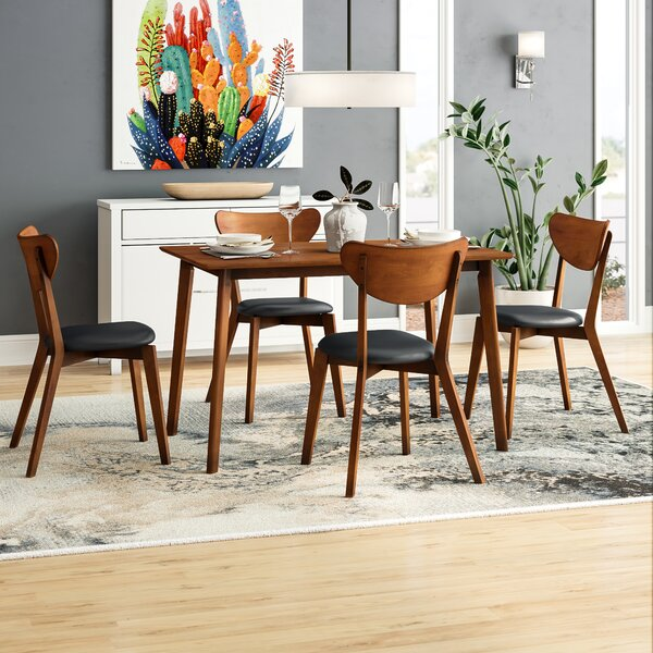 New Urijah 5 Piece Dining Set By George Oliver Great Reviews