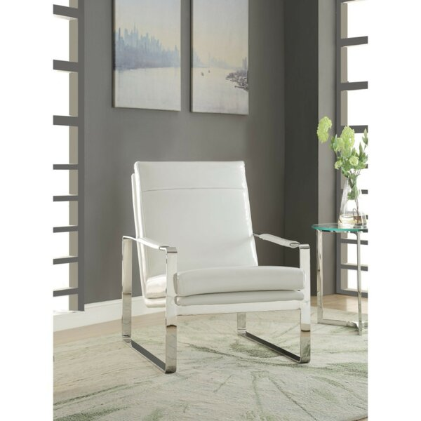 Sigala High Backrest Armchair by Orren Ellis