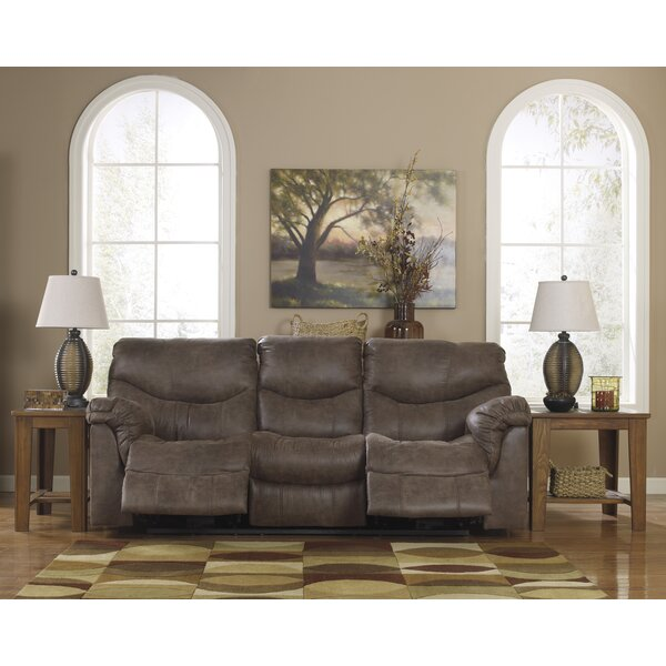 Buy Online Discount Weddington Reclining Sofa by Red Barrel Studio by Red Barrel Studio