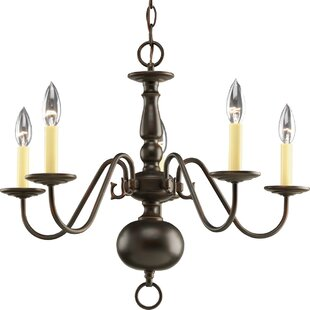 Bargain Doyle 5-Light Chandelier By Alcott Hill