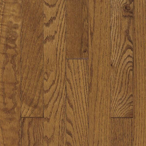 Ascot Plank 3-1/4 Solid Oak Hardwood Flooring in Chestnut by Armstrong Flooring