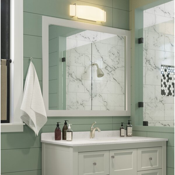 Mcelhaney 39 Bathroom / Vanity Mirror by Winston Porter