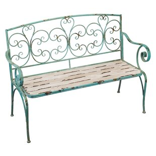 Wrought Iron Outdoor Bench Wayfair