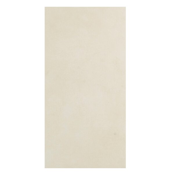 Loft 12 x 24 Porcelain Field Tile in White by Casa Classica